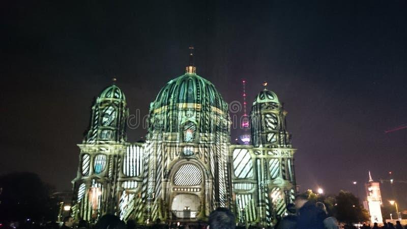 Празднество Берлин светов стоковое изображение rf