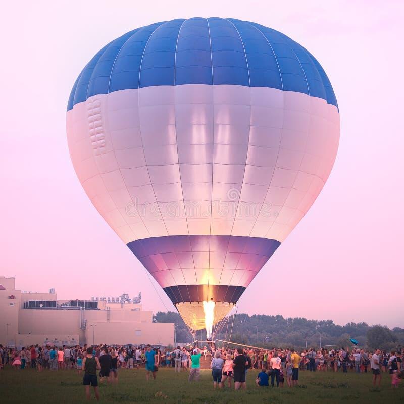 празднество воздушного шара горячее стоковое изображение rf