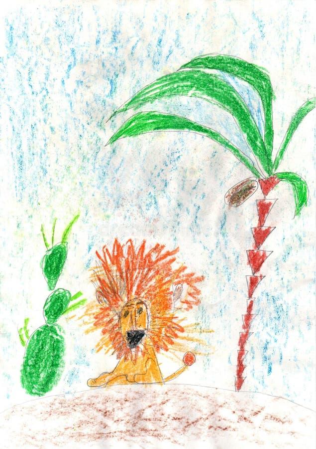 Праздники чертежа детей счастливые! стоковое изображение rf