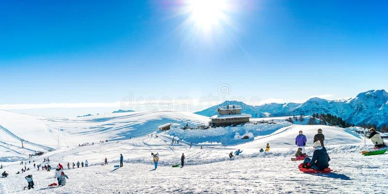 Праздник лыжи стоковое изображение rf