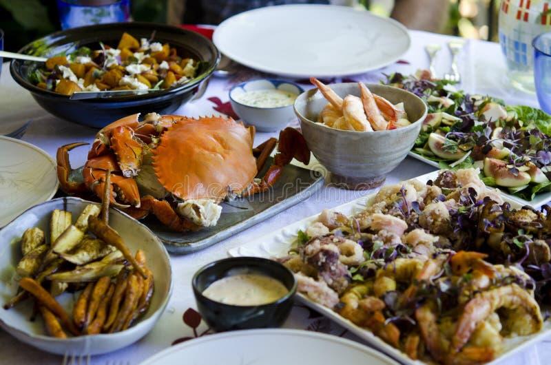 праздничная еда стоковые фото