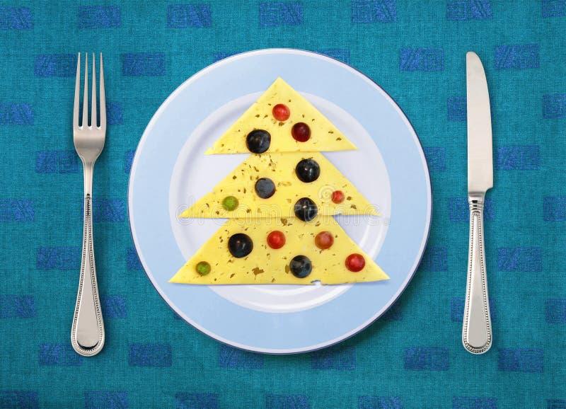 Праздничная тарелка стоковое изображение rf