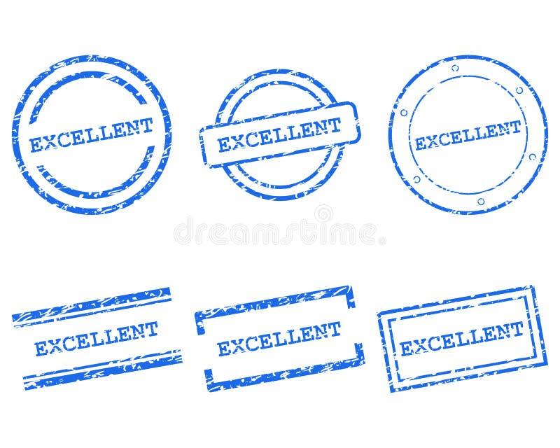 Превосходные печати иллюстрация штока