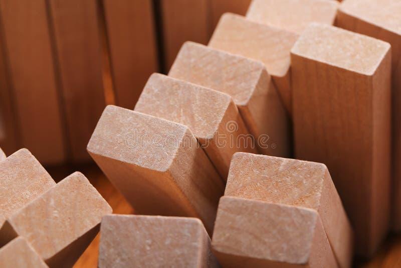 преграждает деревянное стоковые фото