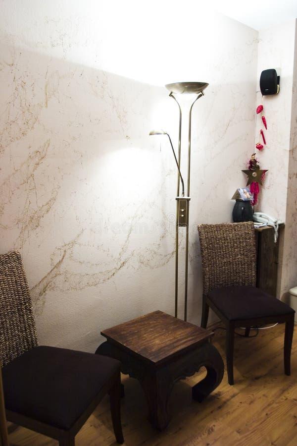 предводительствует комнату светильника живущую стоковое фото rf