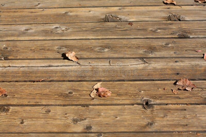 предкрылки палубы напольные деревянные стоковая фотография rf