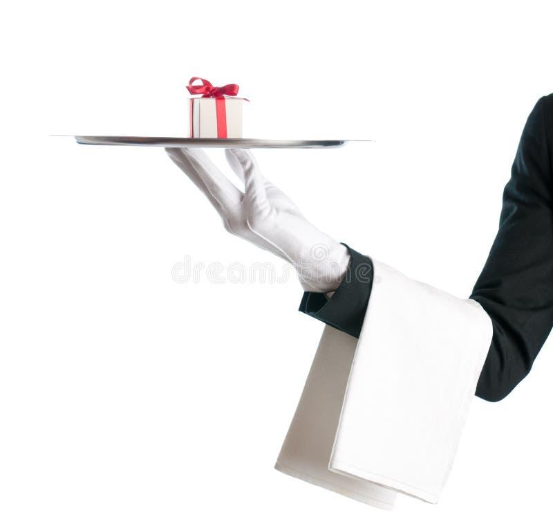предлагать подарка стоковая фотография rf