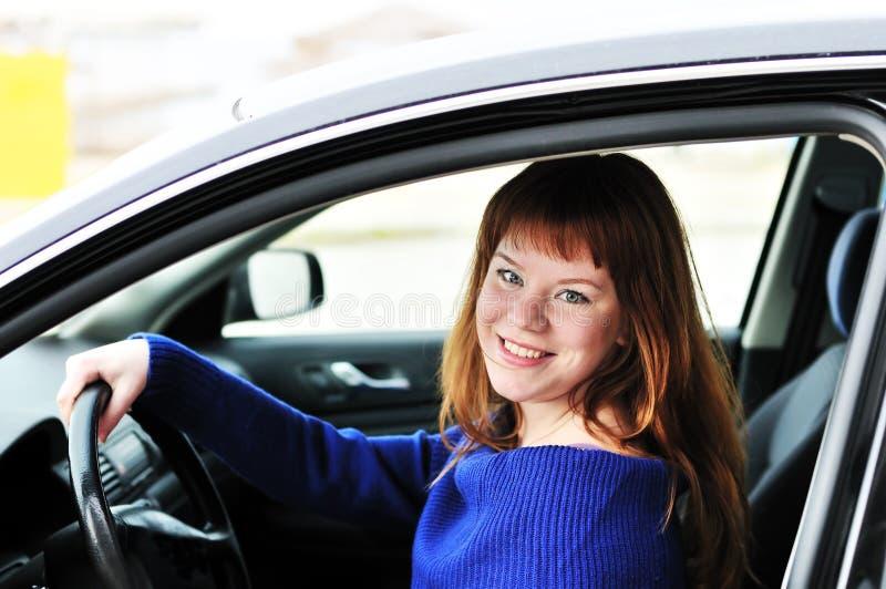 предназначенное для подростков водителя счастливое стоковое фото rf