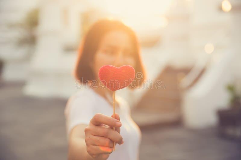 Предназначенный для подростков с любить сердец влюбленности красивый счастливый дня ` s валентинки стоковые фото