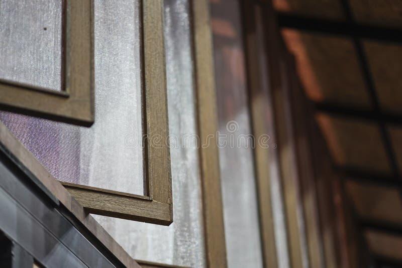 Предохранение от сети экрана провода москита окна стоковое фото rf