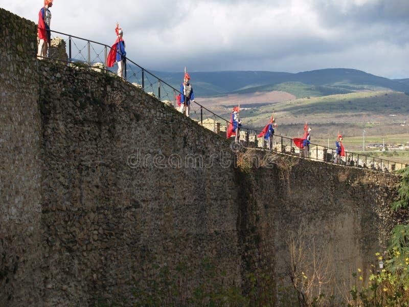 предохранители крепости стоковое изображение