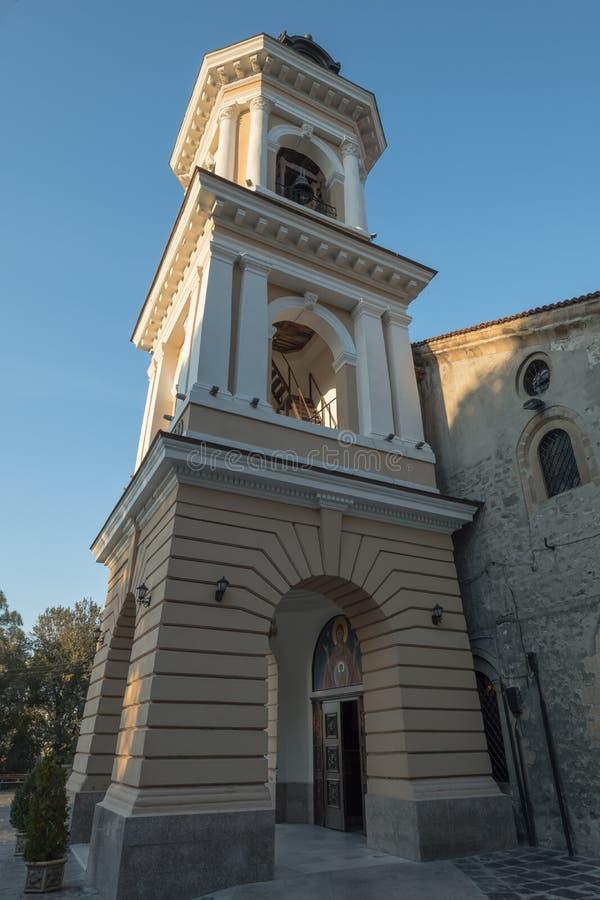 Предположение церков святой девственницы, городок Пловдива старый, Болгария стоковое фото