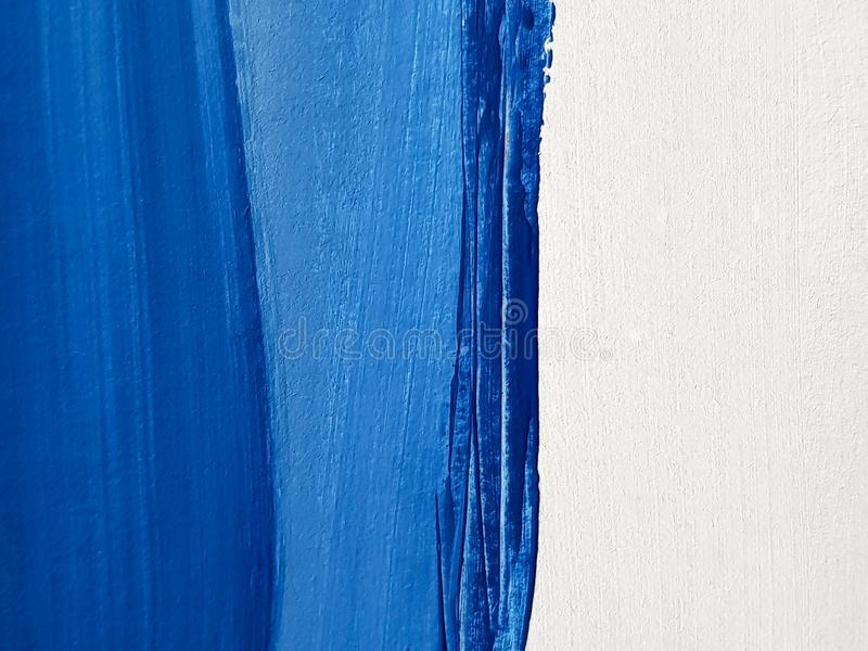 Предпосылка абстрактного голубого искусства крася стоковые изображения