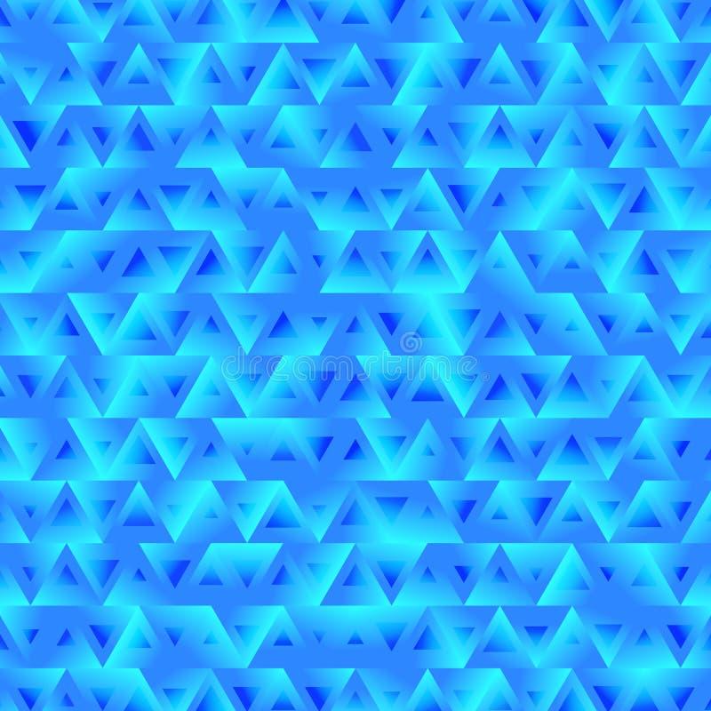 Предпосылка абстрактной текстуры с треугольниками иллюстрация вектора