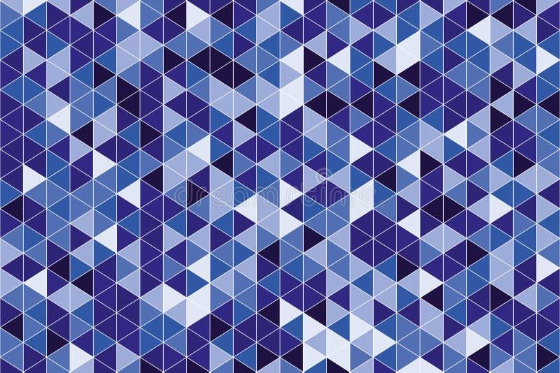 Предпосылка абстрактных треугольников графическая для проектов искусства иллюстрация штока