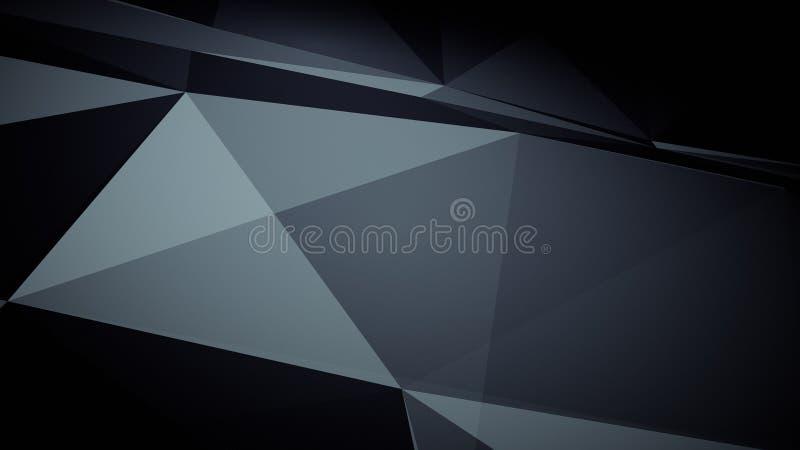 Предпосылка абстракции футуристическая для дизайна иллюстрация штока