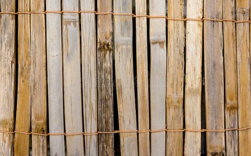 Предпосылка бамбука циновки крупного плана стоковые фото
