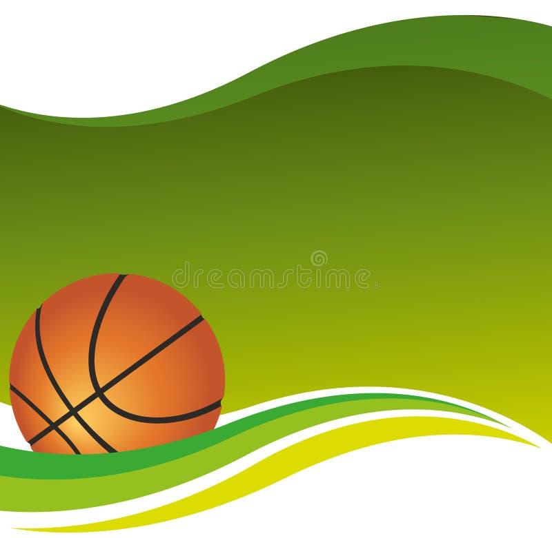 Предпосылка баскетбола стоковые изображения