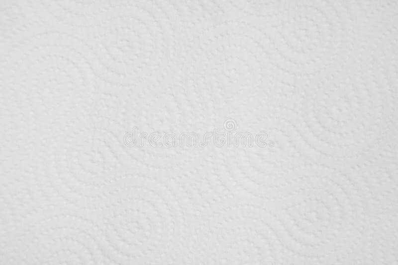 Предпосылка белого листа бумаги с текстурированной картиной точек Полотенце текстуры бумажное стоковые фото