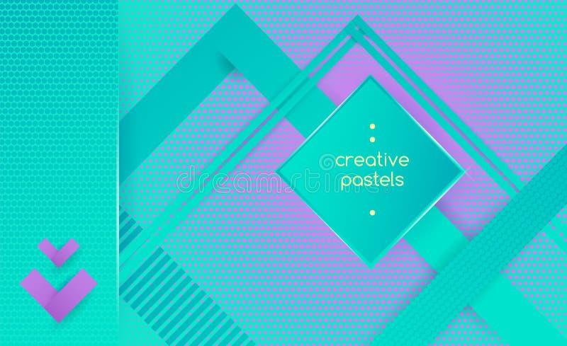 Предпосылка битника геометрическая абстрактная стоковые изображения rf