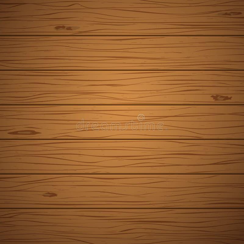 Предпосылка Брауна или текстура, горизонтальные деревянные планки стена, таблица, поверхность пола r бесплатная иллюстрация