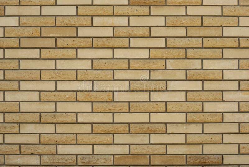 Предпосылка Брауна текстурированная кирпичной стеной стоковое изображение rf