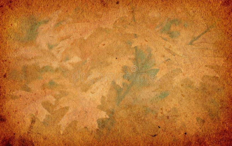 Предпосылка бумаги осени Grunge иллюстрация вектора