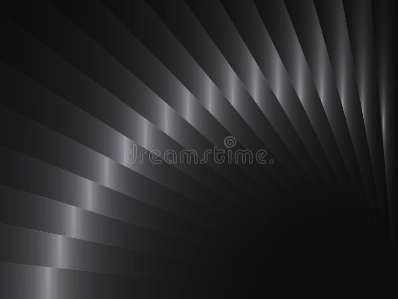 Предпосылка вектора абстрактная с прокладками металла иллюстрация штока