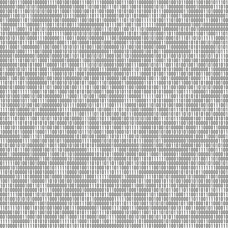 Предпосылка вектора бинарного кода с одно и нул patern безшовное Концепция кодирвоания или хакера, цифровая технология иллюстрация вектора