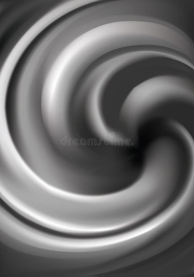 Предпосылка вектора завихряясь розовой текстуры иллюстрация вектора