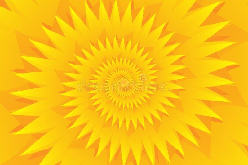 Предпосылка вектора звезды желтая абстрактная иллюстрация штока