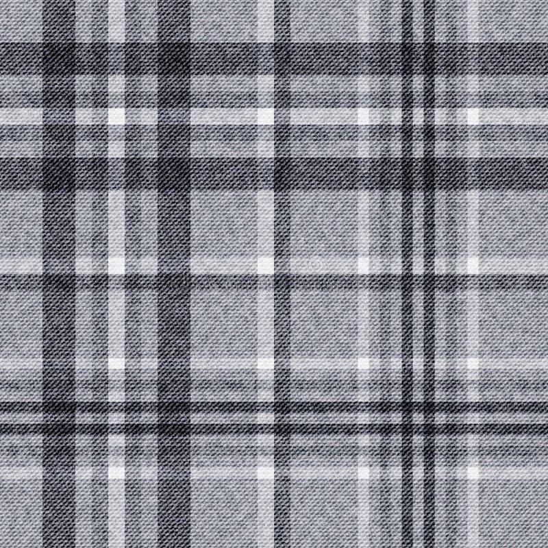 Предпосылка вектора -- шаблон checkered безшовной предпосылки, ткани шотландки иллюстрация штока