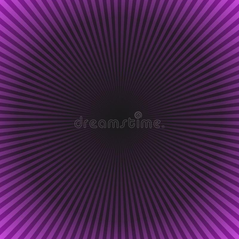 Предпосылка взрыва звезды конспекта градиента - пурпурный дизайн векторной графики иллюстрация вектора