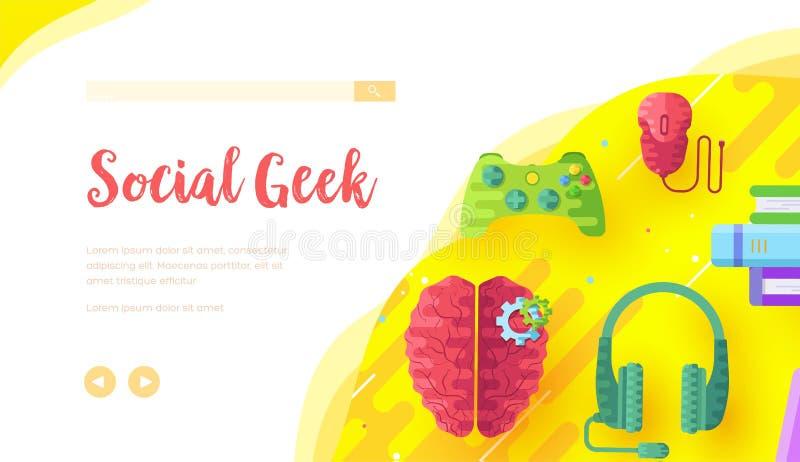 Предпосылка видеоигры с joypad, наушниками стоковые изображения