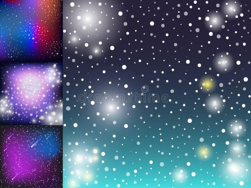Предпосылка вселенной иллюстрации космоса звёздной наружной галактики космическая бесплатная иллюстрация