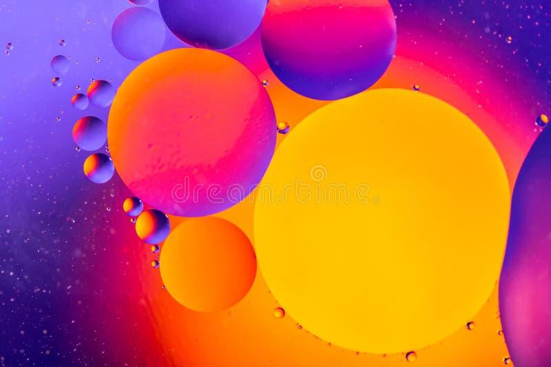 Предпосылка вселенной космоса или планет космическая абстрактная Абстрактное sctructure атома молекулы вода пузырей ванны предпос стоковое фото