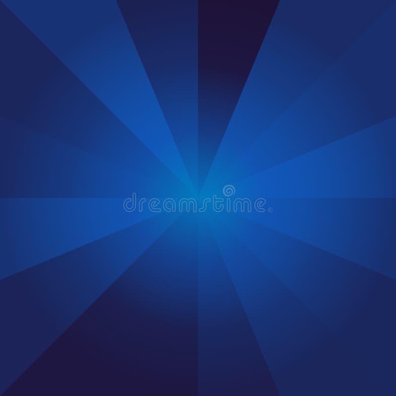 Предпосылка голубого свечения, современный свет с черной, супер предпосылкой, абстрактной картиной бесплатная иллюстрация