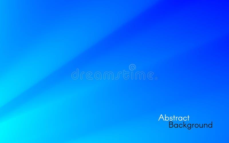 Предпосылка голубых светов минимальная абстрактная конструкция футуристическая Волшебные лучи на небе Белые лучи на голубом фоне  иллюстрация штока