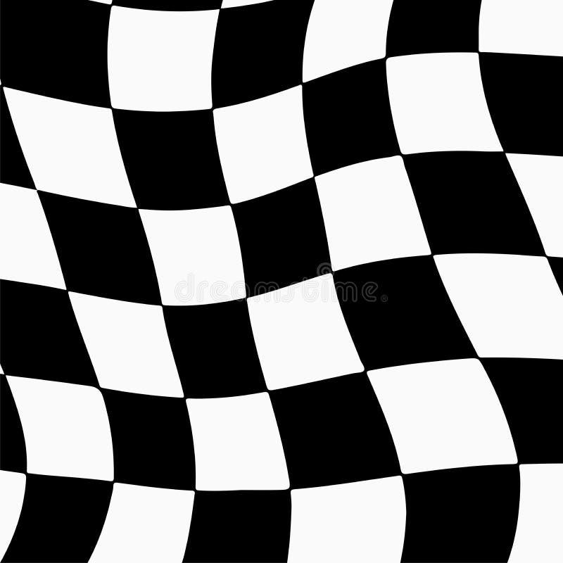 Предпосылка гонок с checkered иллюстрацией флага EPS10 бесплатная иллюстрация