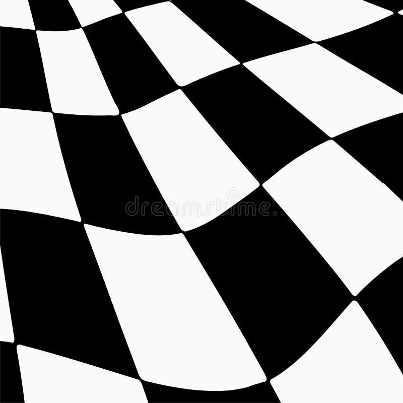 Предпосылка гонок с checkered иллюстрацией флага EPS10 иллюстрация вектора