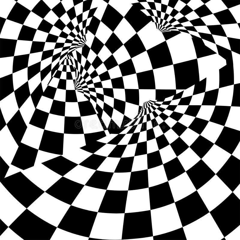 Предпосылка гонок с checkered иллюстрацией флага EPS10 иллюстрация штока