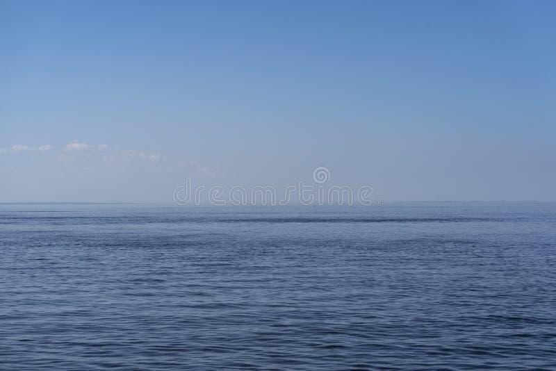 Предпосылка горизонта моря стоковое изображение