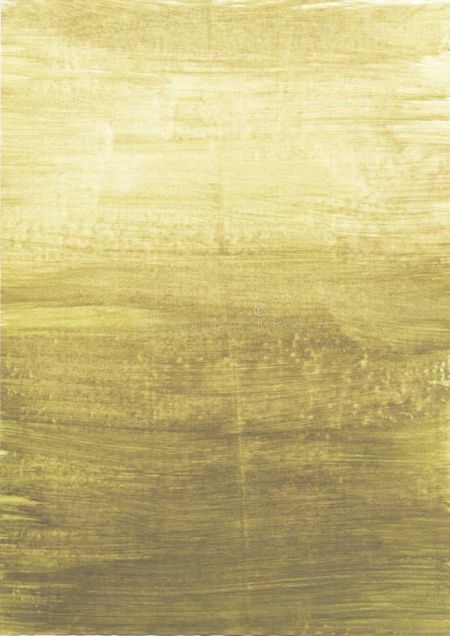 Предпосылка градиента прованская зеленая Ровный переход от света к темноте иллюстрация вектора