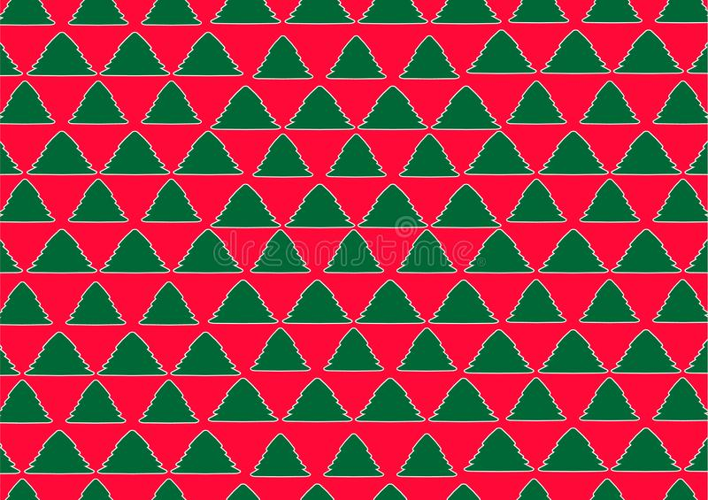 Предпосылка деревьев абстрактная вектор экрана иллюстрации 10 eps иллюстрация вектора