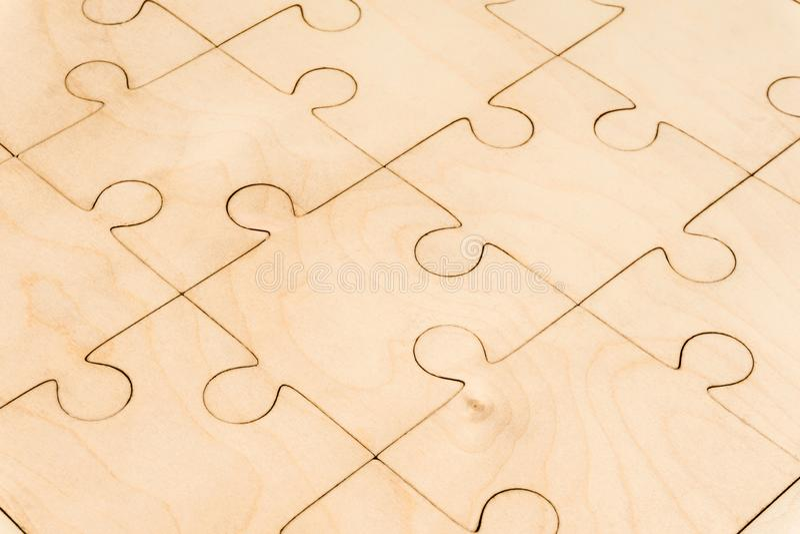 Предпосылка - деревянная головоломка стоковое изображение