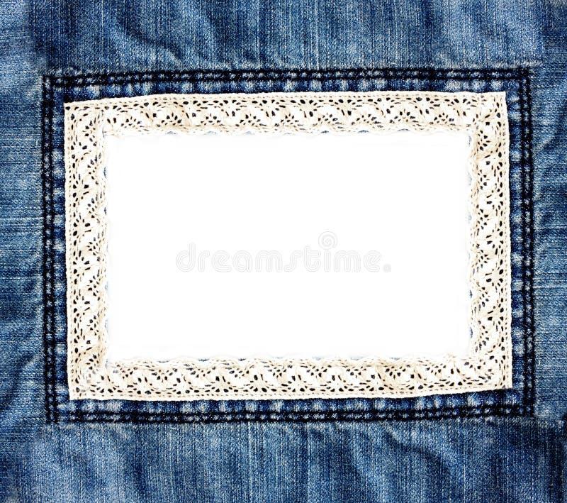 Предпосылка джинсовой ткани стоковая фотография rf