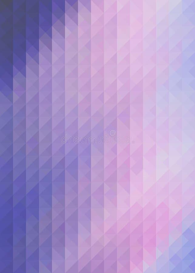 Предпосылка дизайна картины треугольника полигональная, решетка бесплатная иллюстрация
