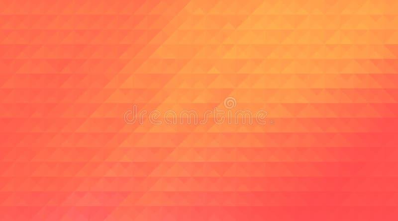 Предпосылка дизайна картины треугольника полигональная, светлая решетка иллюстрация вектора