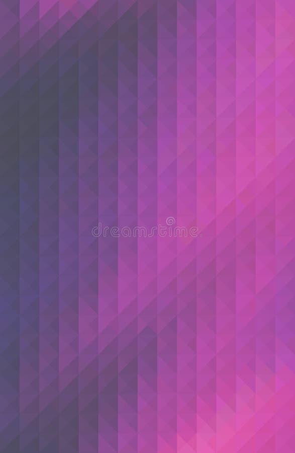 Предпосылка дизайна картины треугольника полигональная, форма решетки иллюстрация вектора