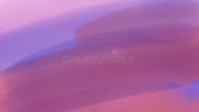 Предпосылка для webdesign, красочная запачканная предпосылка внушительной абстрактной акварели фиолетовая, обои стоковая фотография rf